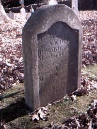 Headstone of Captain Vachel D. Howard, Revolutionary War soldier
