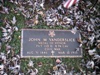 Vanderslice Memorial Plaque