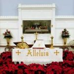 St James Christmas Altar