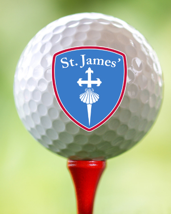 Golf Ball with St. James' Logo