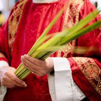 Priest with Palms